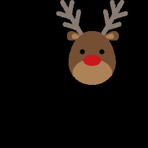 I heart Christmas Rentier Geschenk Weihnachten
