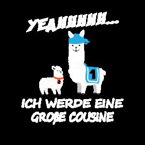 Alpaka Cousinen - Große Cousine Alpaca Cousinchen