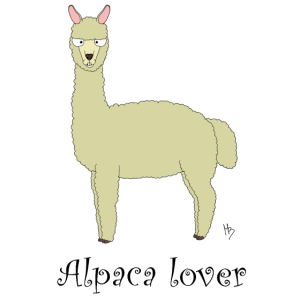 Alpaka-Liebhaber