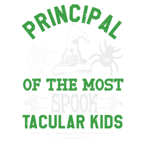 Principal of the most spook tacular kids