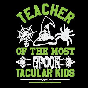 Teacher of the most spook tacular kids