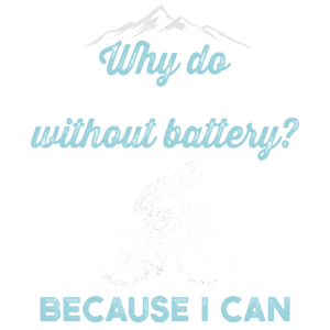 Why am I driving without a battery? Because I can!