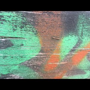 Streetart Wood