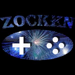 """Gamer Funshirt """"Zocken"""""""