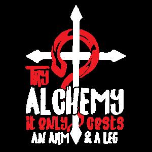 Alchemie kostet nur ein Arm & ein Bein Anime