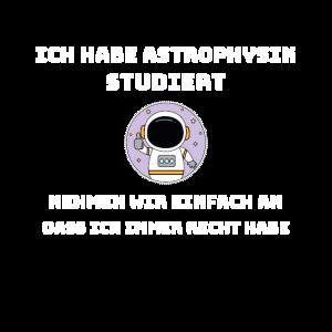 Ich habe Astrophysik studiert! - Astrophysiker