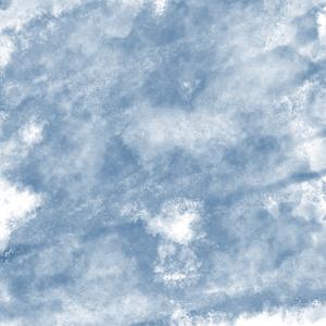 Wasserfarben blau Himmel Wasser Wolken digital