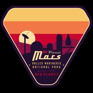 Planet Mars National Park