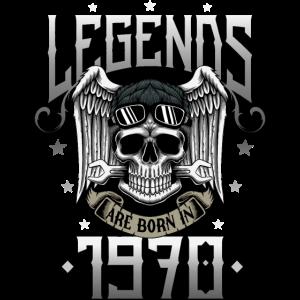 50. Geburtstag 1970 geboren 50 Jahre Biker