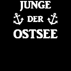 Junge Der Ostsee Norddeutsch Norddeutschland