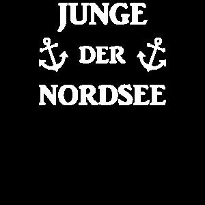 Junge Der Nordsee - Norddeutsch Norddeutschland