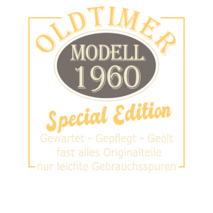 60.Geburtstag 60 Jahre 60er 60 Geschenk sechzig