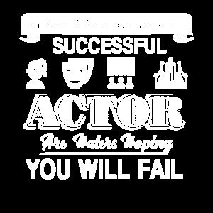 Schauspieler hinter jedem erfolgreichen Schauspieler