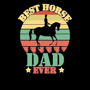 Bester Pferdevater aller Zeiten Pferde Retro