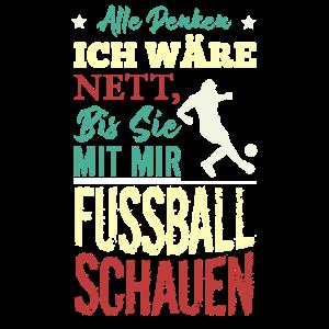 Retro Fussball Shirt | Lustige Fussball T-Shirts |