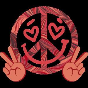 peace e 18 gesicht