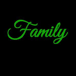 Familie Geschenk Verwandtschaft
