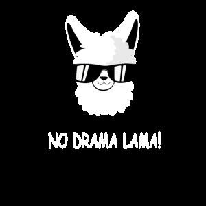 Lustiger Lama Alpaka Kopf als Geschenk für Freunde