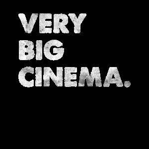 Very Big Cinema Engleutsch Großes Kino Denglisch