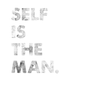 Self Is The Man Engleutsch Denglisch T-Shirt