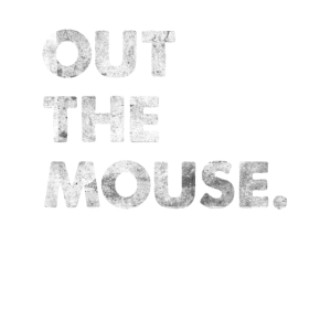 Out The Mouse Denglisch Spruch T-Shirt