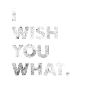 I Wish You What Spruch Engleutsch Denglisch Tshirt