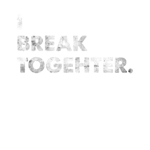 I Break Together Engleutsch Denglisch T-Shirt