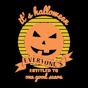 Its Halloween, everyones