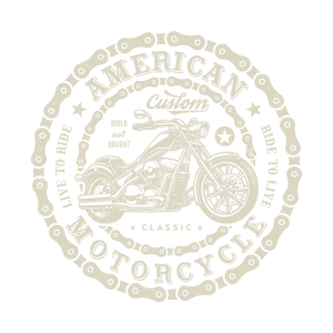 American Custom Motorcycle Built Not Bought