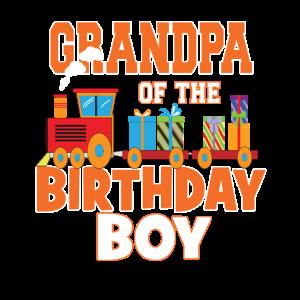 Opa des Geburtstagskindes Zugliebhaber Bday