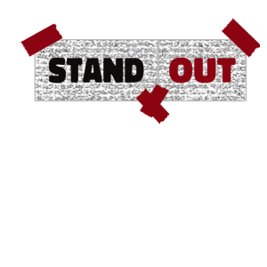 Stand out,Auffallen,Hervorragen,Sprüche,einzigarti