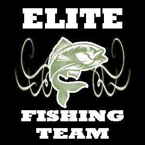 Elite fishing team