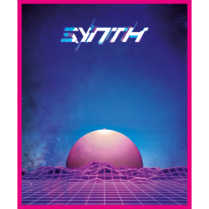 Synth Retro Vaporwave Outrun Synthwave Musik Fan