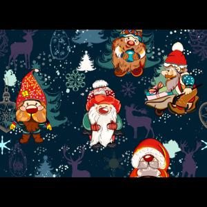 Weihnachtsmann Zwerge | Coole Xmas Maske