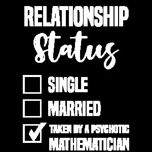 Mathematiker psychotisch Beziehungsstatus lustig