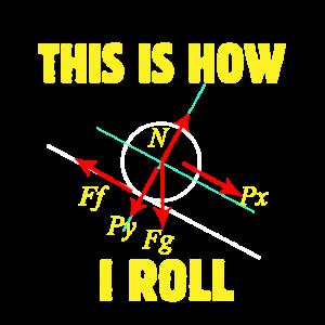 Physiklehrer So rolle ich die Wissenschaft Physike