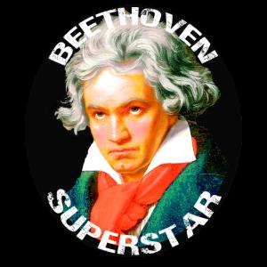 Beethoven Star Ich liebe klassische Musik Klassiker