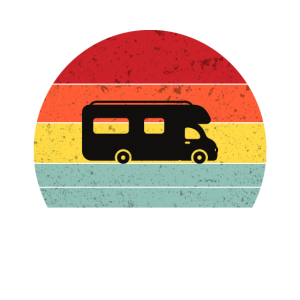 Camping Van Camper Retro Stil