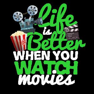 Kino Filme Television Hollywood Geschenk