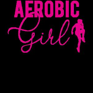 Aerobic Girl Geschenk Frauen Mädchen