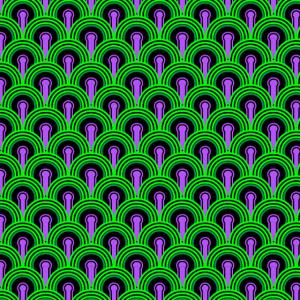 The shining pattern