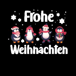 Frohe Weihnachten Pinguine Pinguin