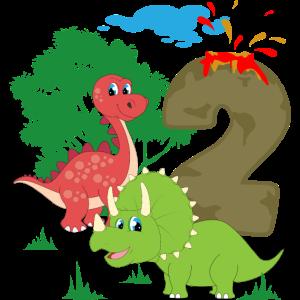 2. Geburtstag Kinder 2 Jahre 2018 geboren Geschenk