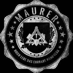 Maurer, Zunftwappen, Handwerker