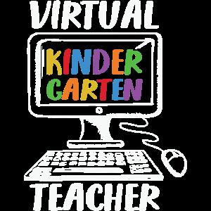Virtueller Kindergärtner Fernunterricht