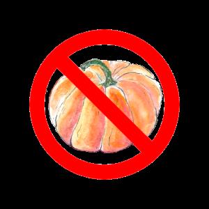 Anti Halloween – kein Kürbis!
