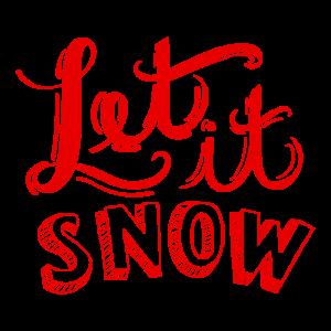 Let it snow - Schnee - Winter - Eis - Kälte - cold