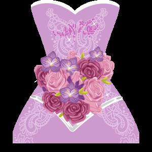 Einfaches Hochzeitskleidgeschenk für Brautduschengeschenk
