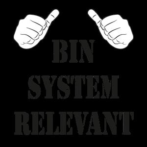 ICH BIN SYSTEM RELEVANT