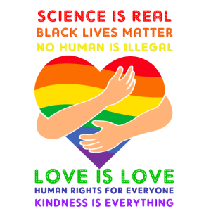 science is real, love is love, Tolle Geschenkidee